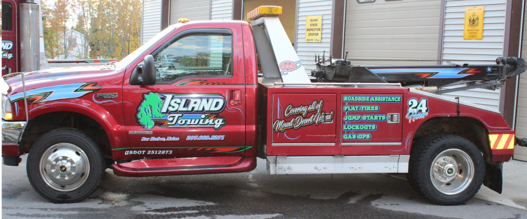 Your Next Tow Is a Go With Island Towing & Auto Repair